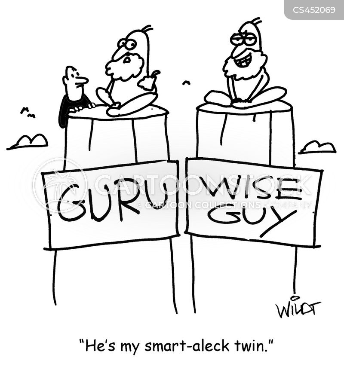 wise guy cartoon