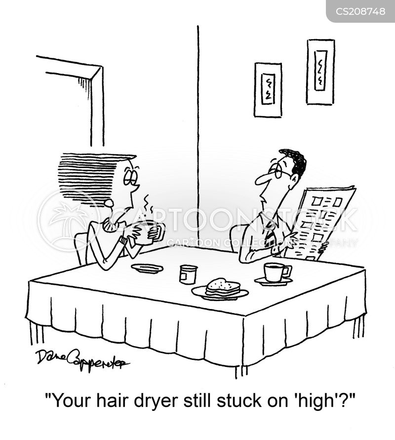 hairdryers cartoon