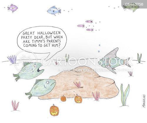 halloween parties cartoon