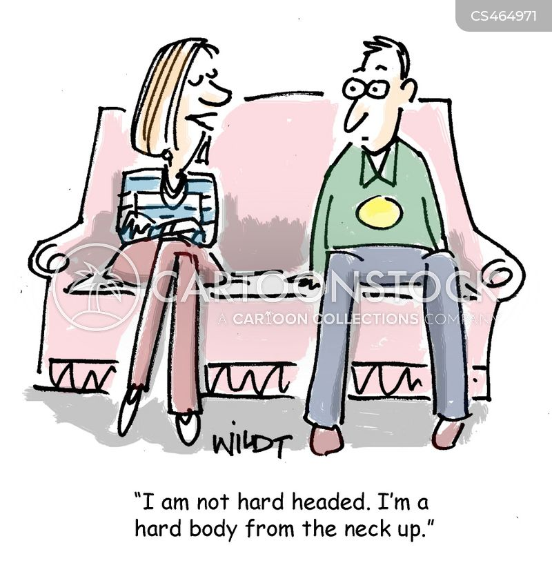 hard-headedness cartoon
