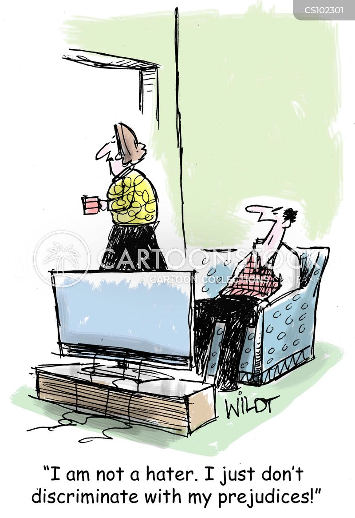 selective cartoon