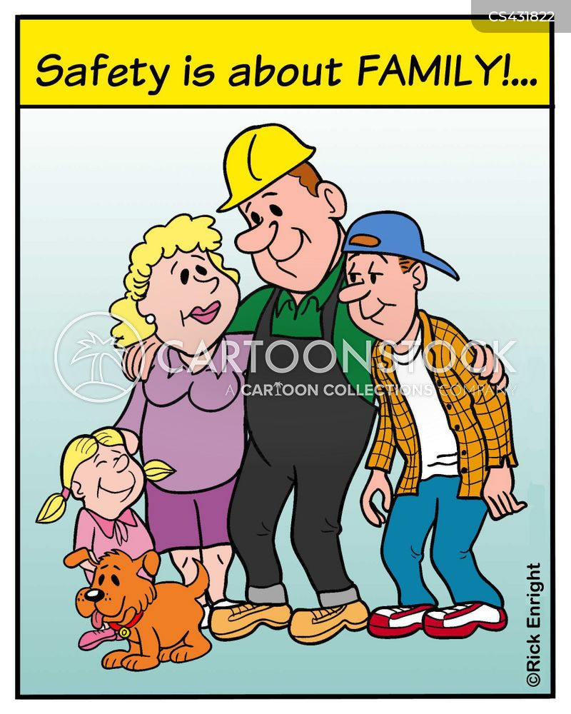 Safety Rules Cartoons and Comics - funny pictures from CartoonStock