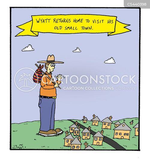 home town cartoon