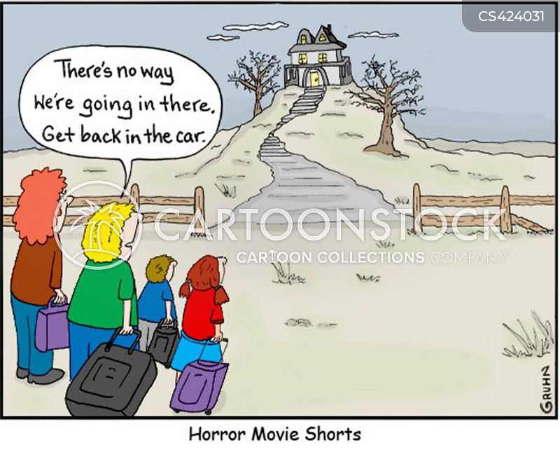 haunted houses cartoon