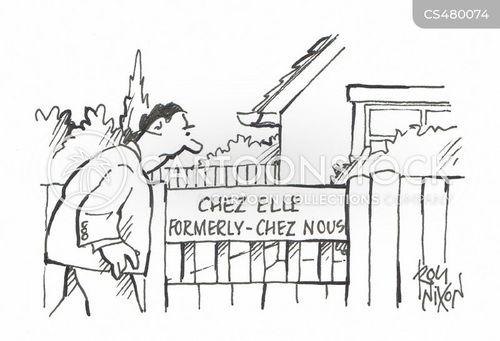 formerly cartoon