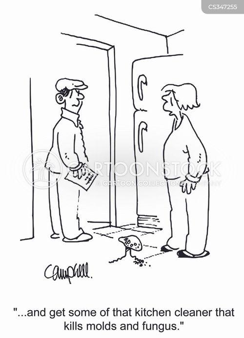 funguses cartoon