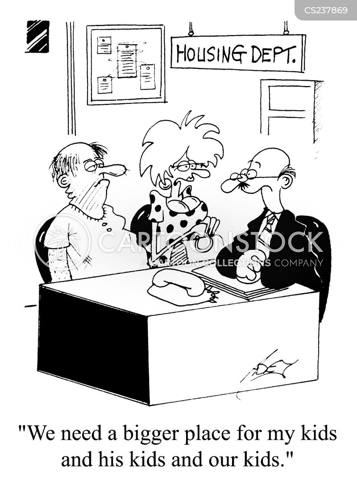 housing benefit cartoon