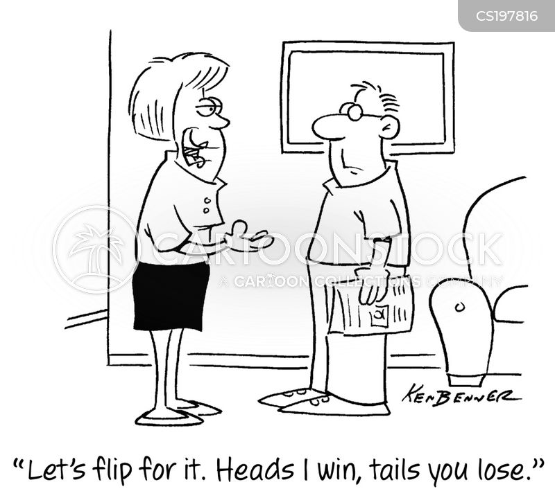 Coin Toss cartoons, Coin Toss cartoon, funny, Coin Toss picture, Coin Toss pictures, Coin Toss image, Coin Toss images, Coin Toss illustration, Coin Toss illustrations