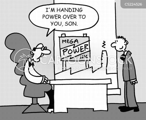 power companies cartoon