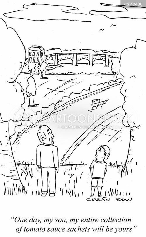 passed down cartoon