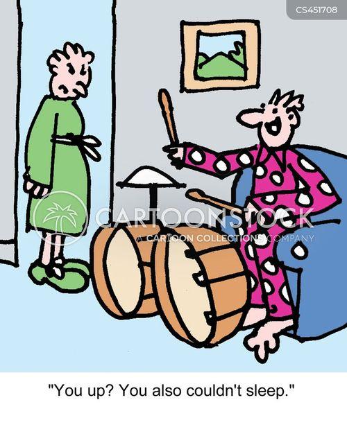 drum sets cartoon