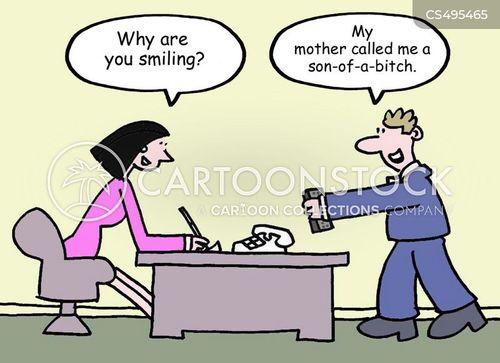 backhanded insult cartoon