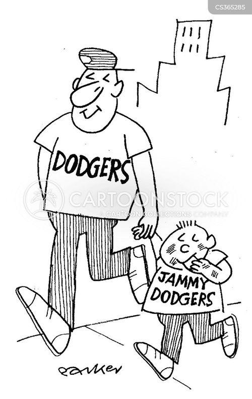 dodginess cartoon