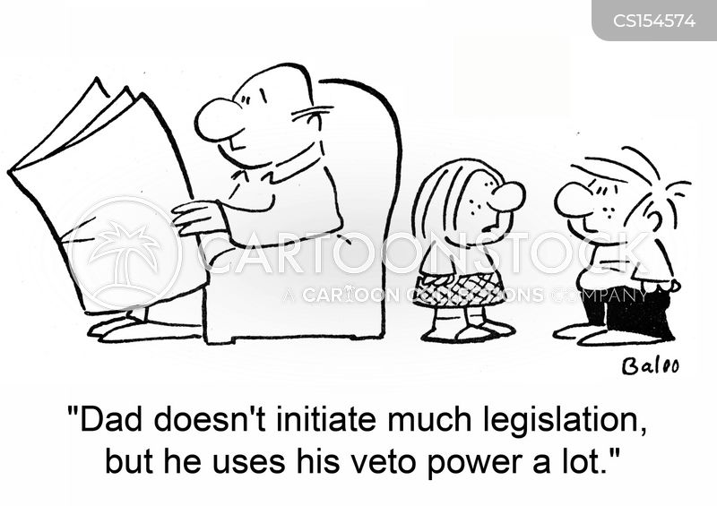 vetos cartoon