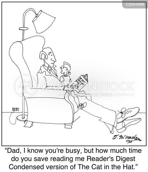 readings cartoon