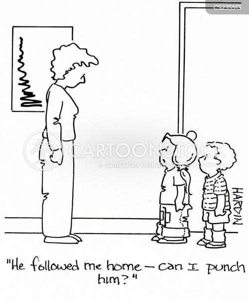 lost child cartoon