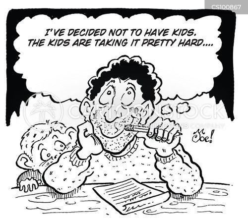bad dad cartoon