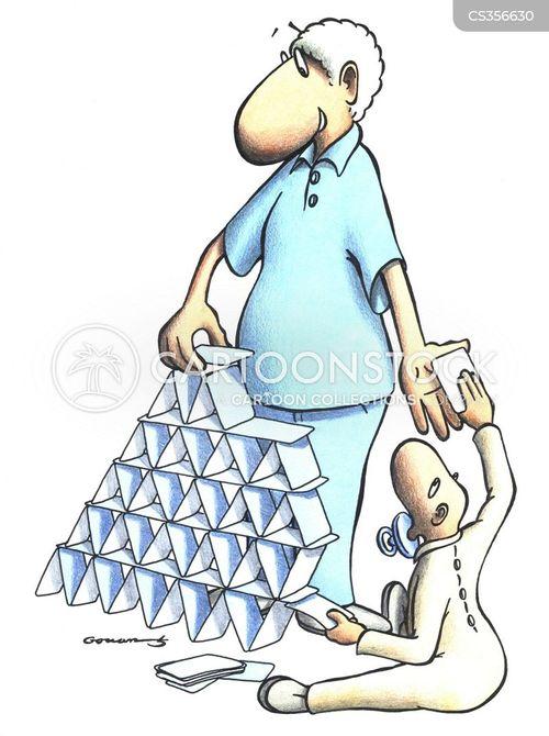 house of cards cartoon