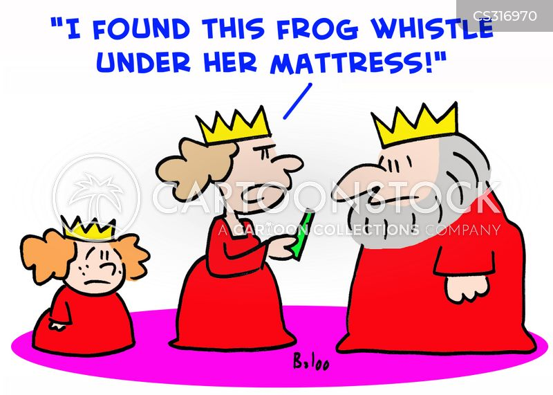 frog whistles cartoon
