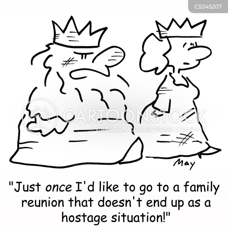 family reunion cartoon