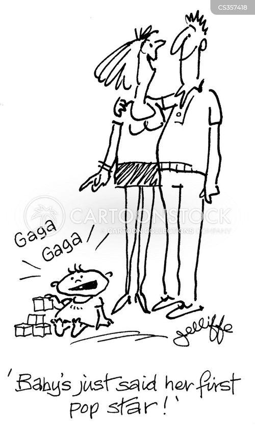 lady gaga cartoon