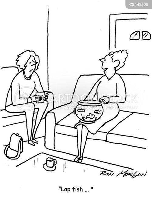 lap pets cartoon