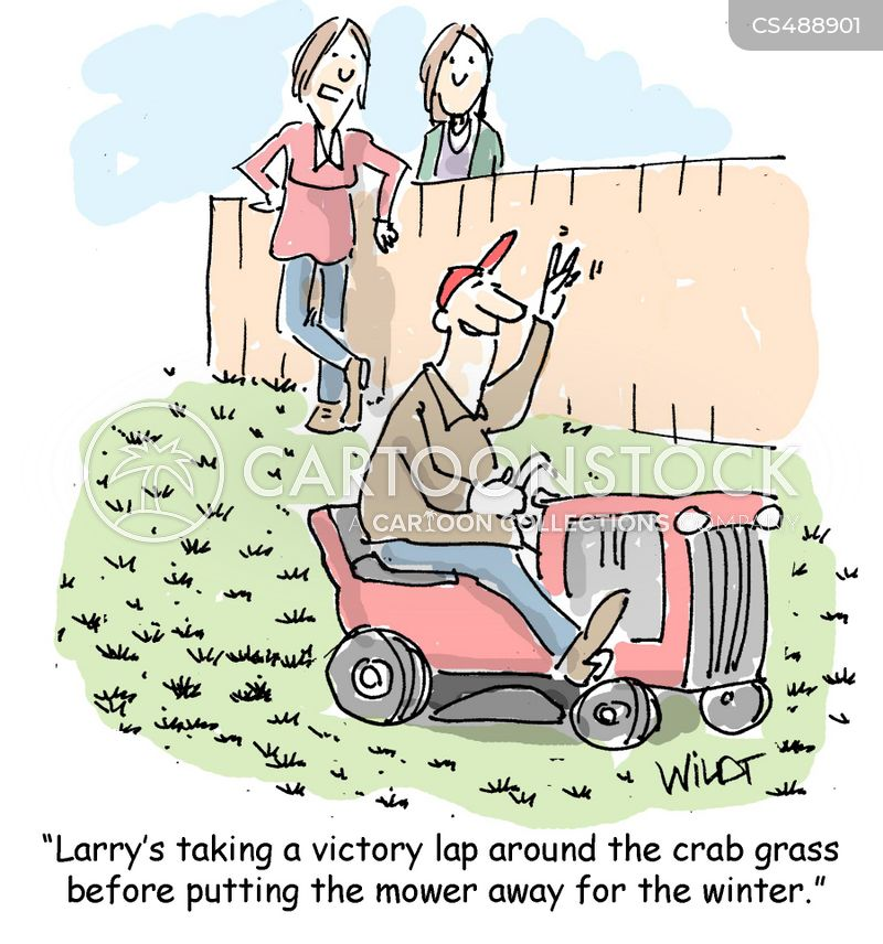 victory laps cartoon