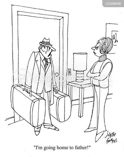 leavers cartoon