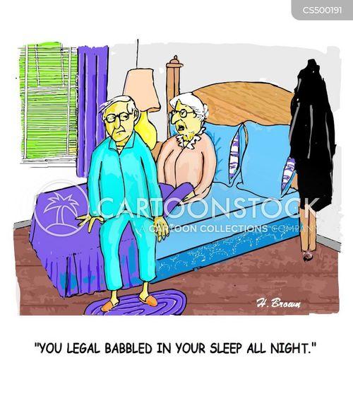 restless night cartoon