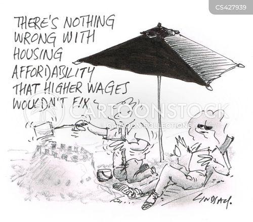 property price cartoon