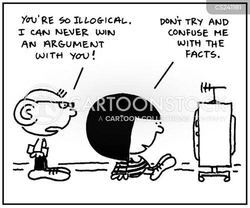 logically cartoon