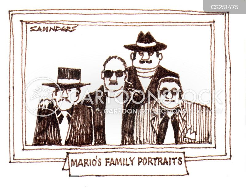 family picture cartoon
