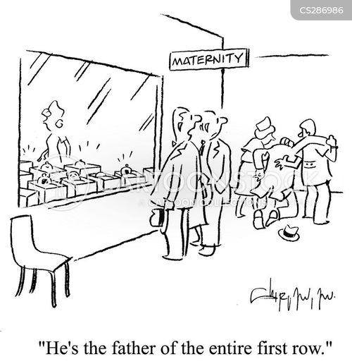 paternity suit cartoon