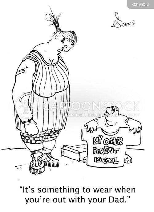 messy divorces cartoon