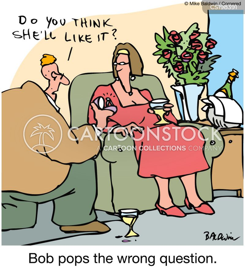 pop the question cartoon