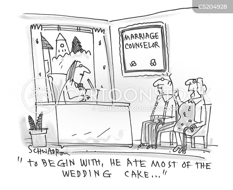 wedding cake cartoon