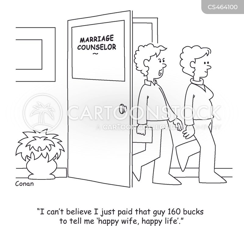 relationship counseling cartoon