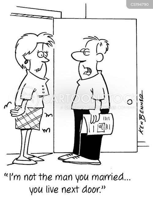 next door cartoon