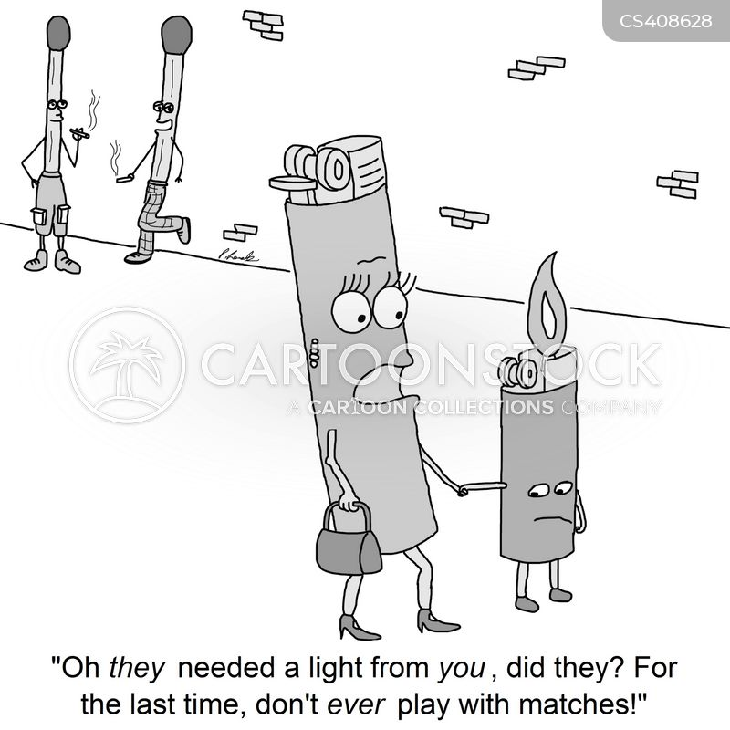 lighter cartoon