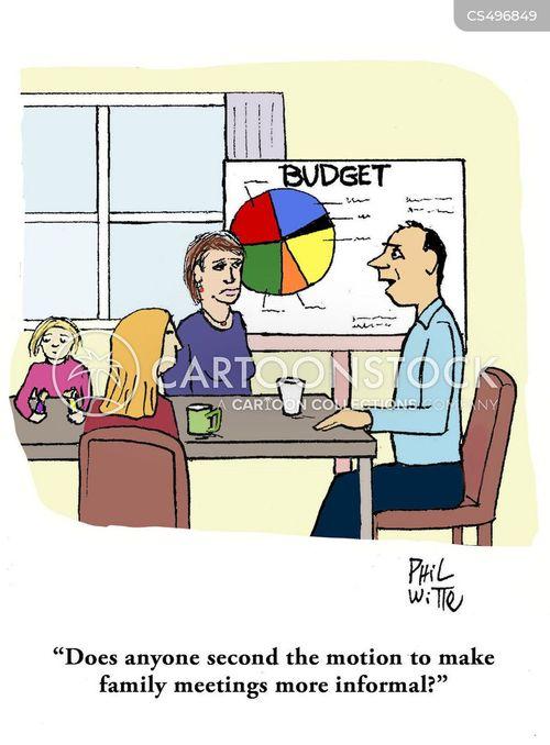 informal meetings cartoon