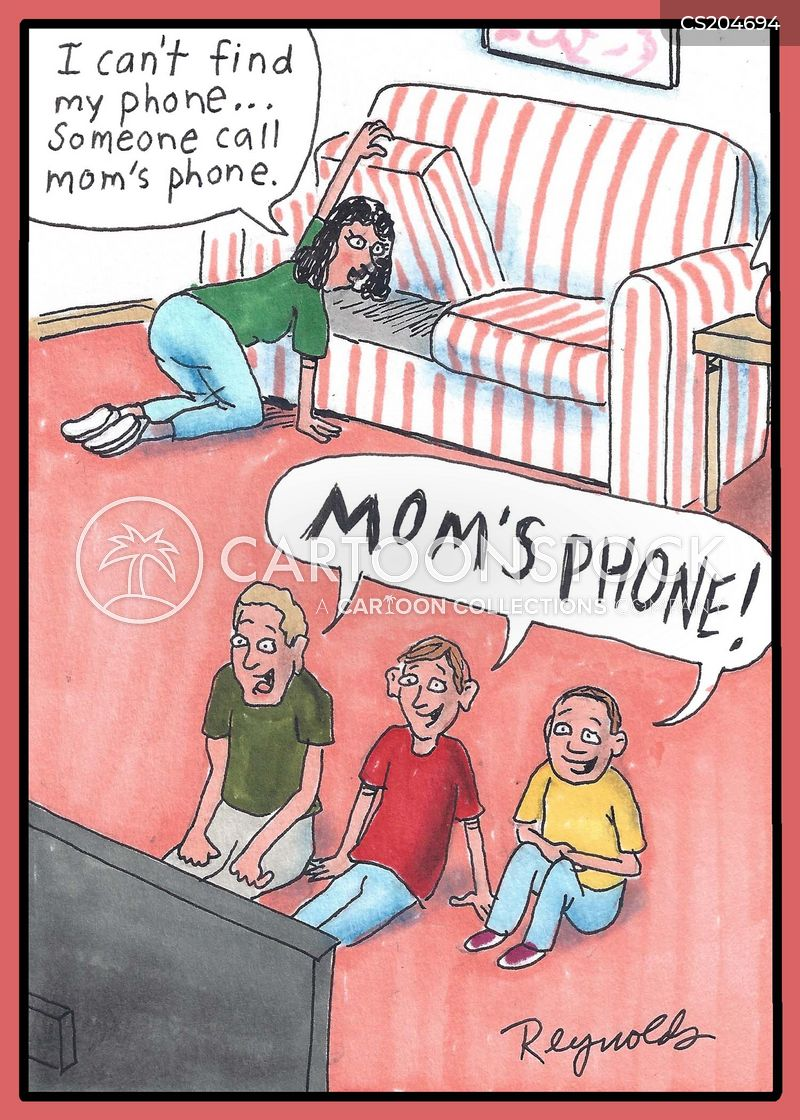 Lost Phones Cartoons And Comics Funny Pictures From Cartoonstock