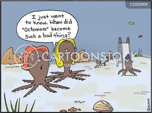 octomom cartoon