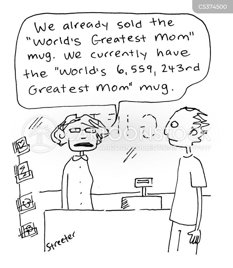 Worlds Greatest Mom Cartoon 1 Of