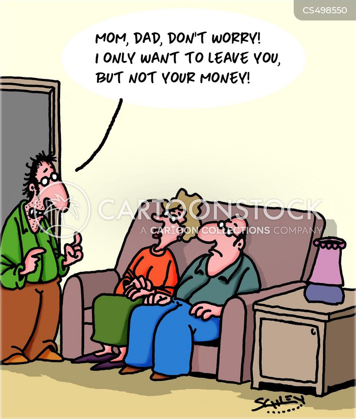 parental support cartoon