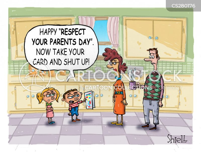 Respect Your Parents Cartoons and Comics - funny pictures from