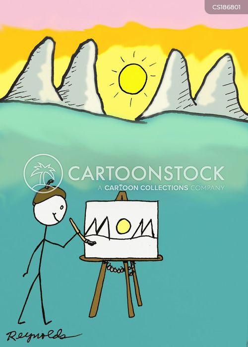 scenery cartoon
