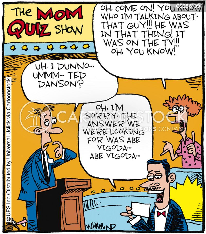 Quizmaster Cartoons and Comics - funny pictures from