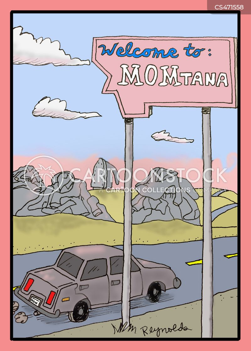 montana cartoon