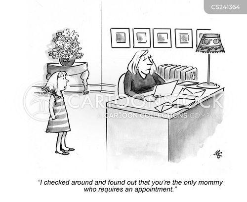 mommies cartoon
