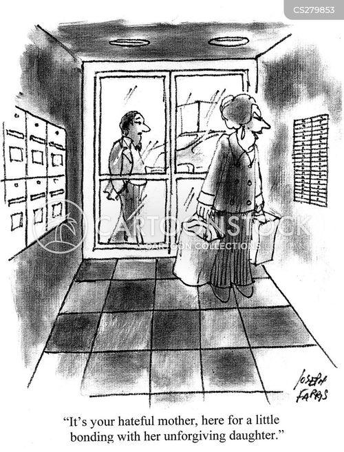 unforgiving cartoon